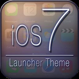 iOS 7 Launcher Theme