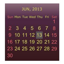 Julls' Calendar Widget Pro