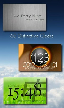 One More Clock Widget