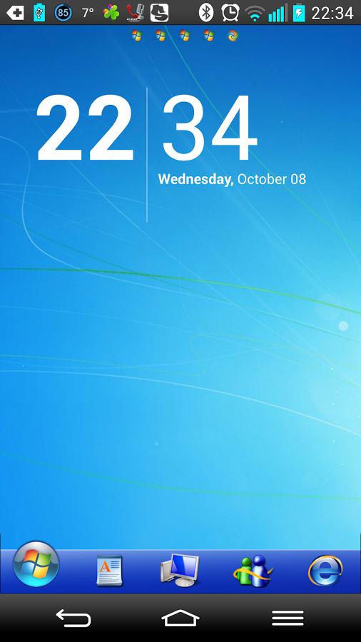 Скачать лаунчер windows 7 для компьютера