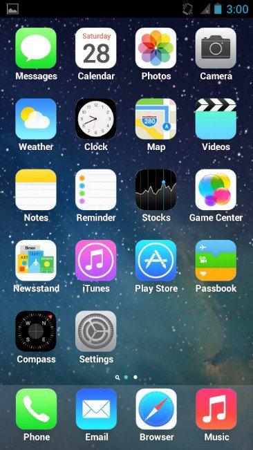 скачать лаунчер айфона 5s на андроид - фото 2