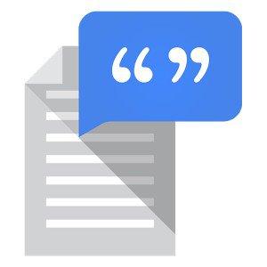 Синтезатор речи Google
