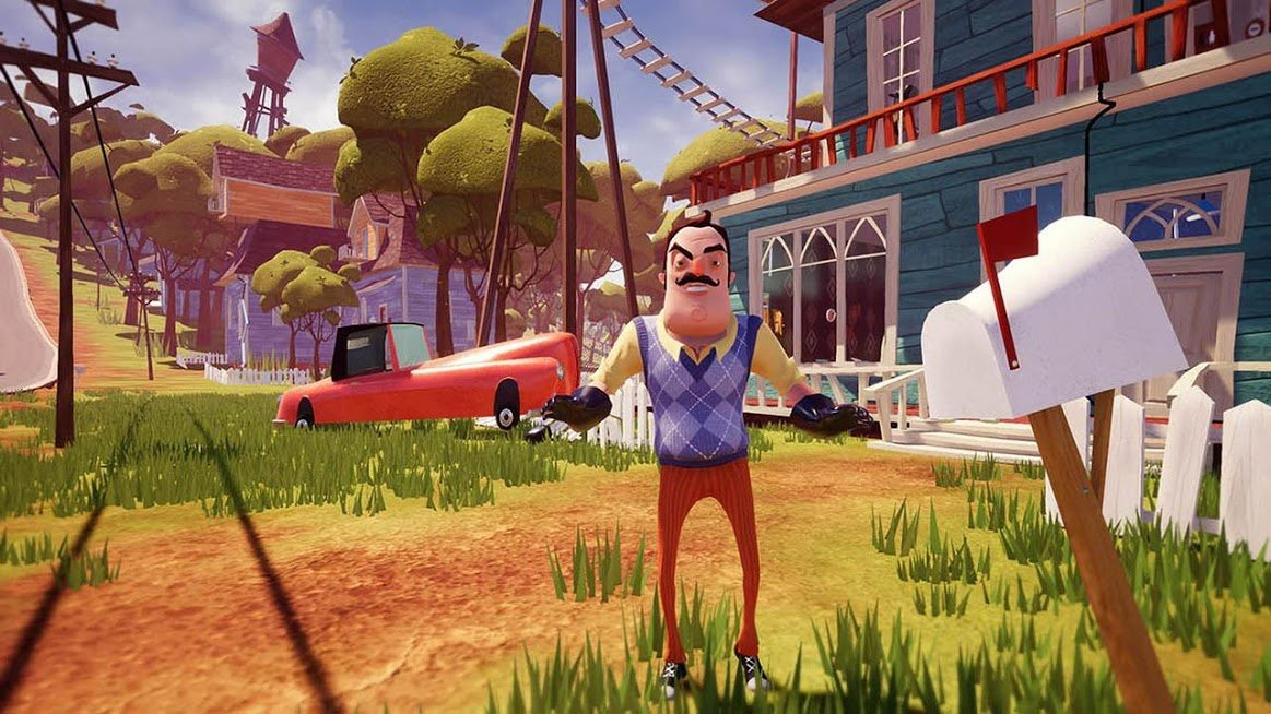 hello neighbor apk и кэш